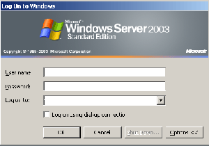 windows server change admin password