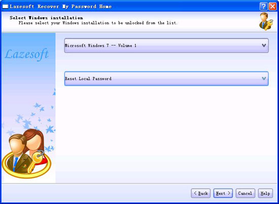 how do i reset password on windows 7